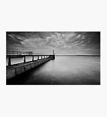 Long Pier Photographic Print
