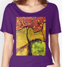Tree of Wisdom.. Women's Relaxed Fit T-Shirt