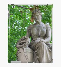 Traditional Stone Sculpture iPad Case/Skin