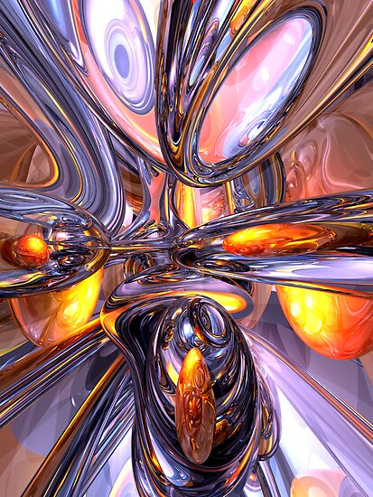 ludicrous Voyage Abstract by Alexander Butler
