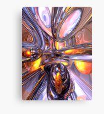 ludicrous Voyage Abstract Metal Print