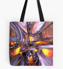 ludicrous Voyage Abstract Tote Bag