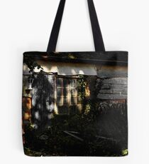Old shack at the bottom of the garden Tote Bag