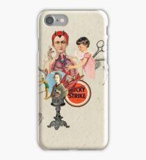 EL DIABLO SE ESCONDE DETRAS DE MIS TIJERAS (The devil hide behind my scissors) iPhone Case/Skin