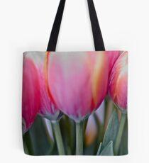 Red & pink tulips, by Brown Sugar. Views (579) Thank you very much ! Muchas gracias ! Большое спасибо ! Dziękuję !  Tote Bag