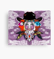 poster cowgirl Canvas Print