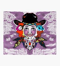 poster cowgirl Photographic Print