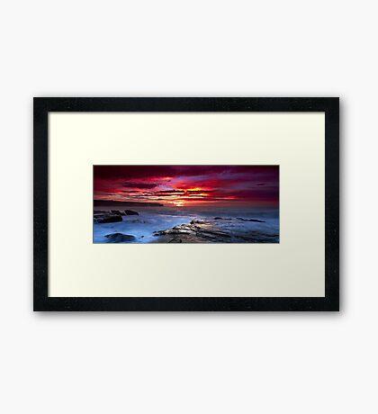 The Hues of Dawn Framed Print