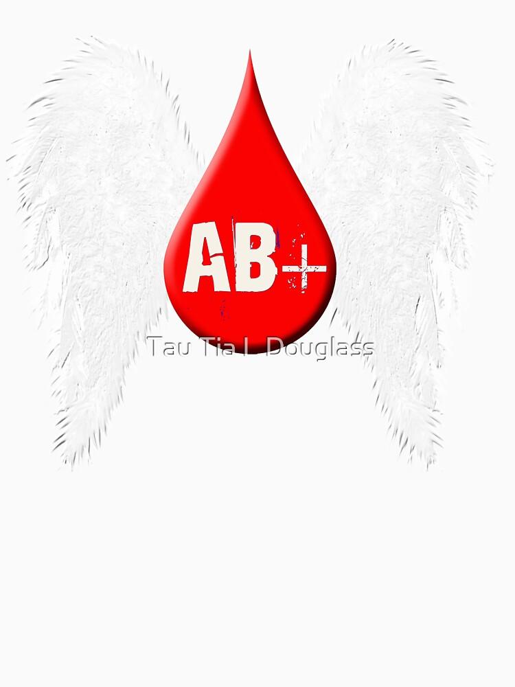 Blood Type AB Positive - Angel Wings by PurplePeacock