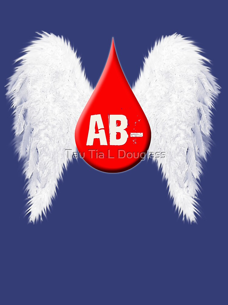 Blood Type AB Negative - Angel Wings by PurplePeacock