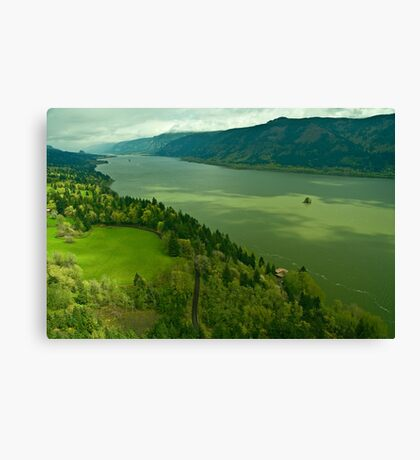 The Mighty Columbia River Canvas Print