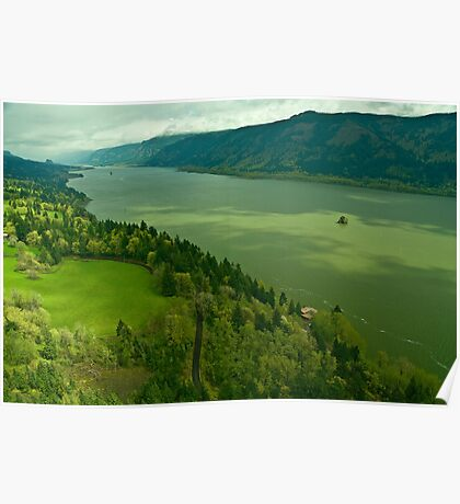 The Mighty Columbia River Poster