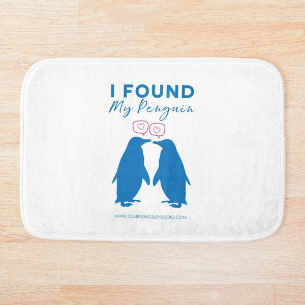I Found My Penguin Bath Mat