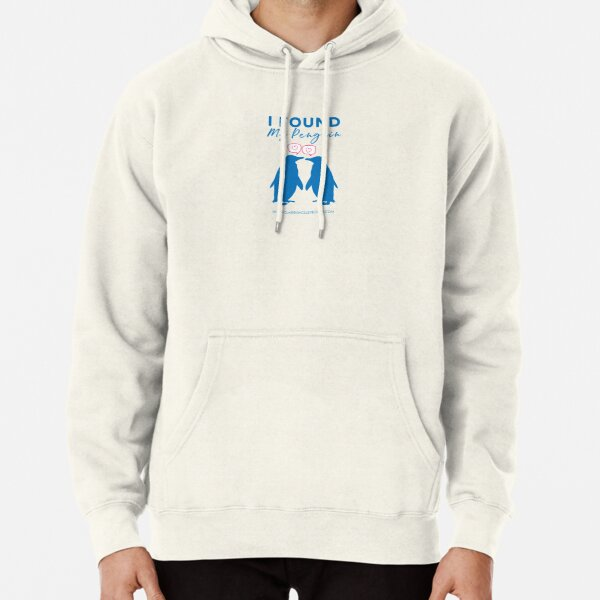 I Found My Penguin Pullover Hoodie