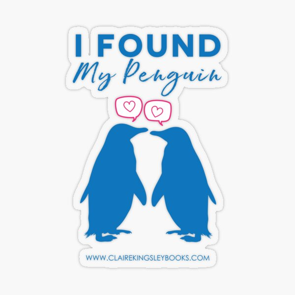 I Found My Penguin Transparent Sticker