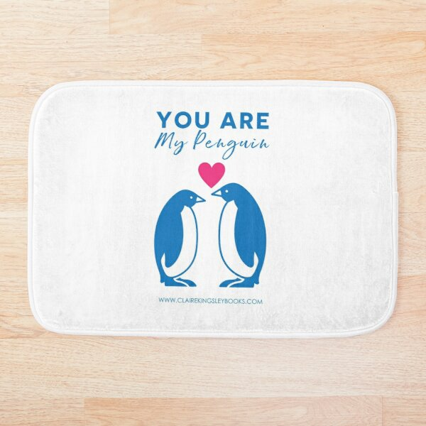 You Are My Penguin Bath Mat