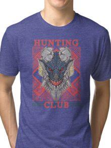 Hunting Club: Stygian Zinogre Tri-blend T-Shirt