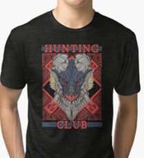 Hunting Club: Stygian Zinogre Tri-blend T-Shirt