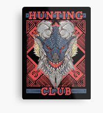 Hunting Club: Stygian Zinogre Metal Print