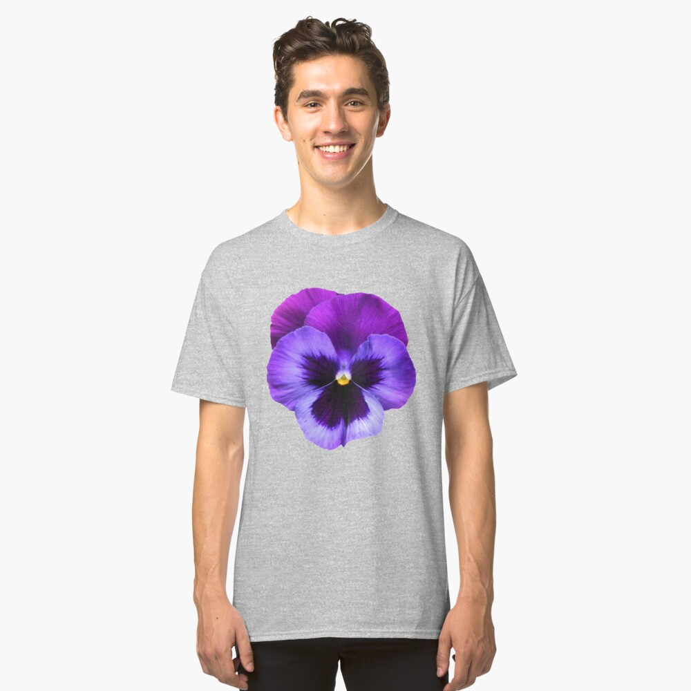 Beautiful Violet Flower Classic T-Shirt