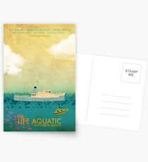 Das Leben-Wasserfilm-Plakat Postkarten