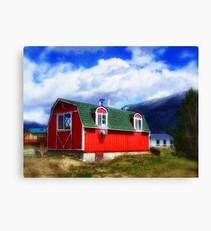 Mini Barn Canvas Print