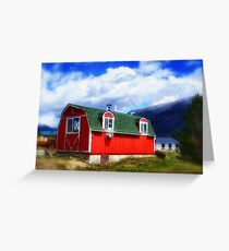 Mini Barn Greeting Card