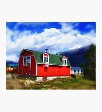 Mini Barn Photographic Print