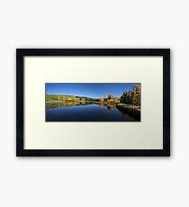 Posey Lake Panorama Framed Print