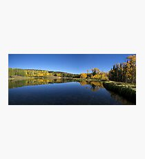 Posey Lake Panorama Photographic Print