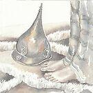 feet and helmet by vimasi