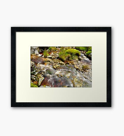Wicklow Stream Framed Print