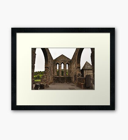 Balltinglass Abbey Wicklow. Framed Print