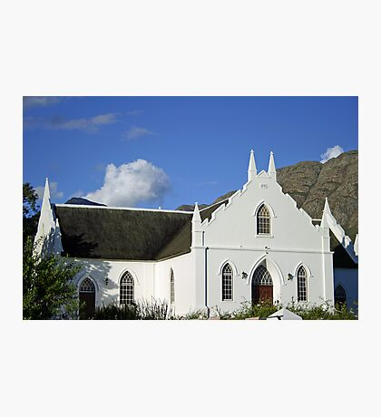 An old Stellenbosch church Photographic Print