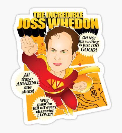 Joss Whedon Sticker