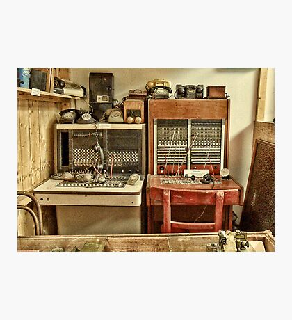The Telephone Exchange Photographic Print
