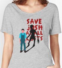 SAVE JOSH WASHINGTON! Women's Relaxed Fit T-Shirt