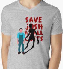 SAVE JOSH WASHINGTON! Mens V-Neck T-Shirt