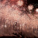 Carcassonne on Bastille day by EblePhilippe
