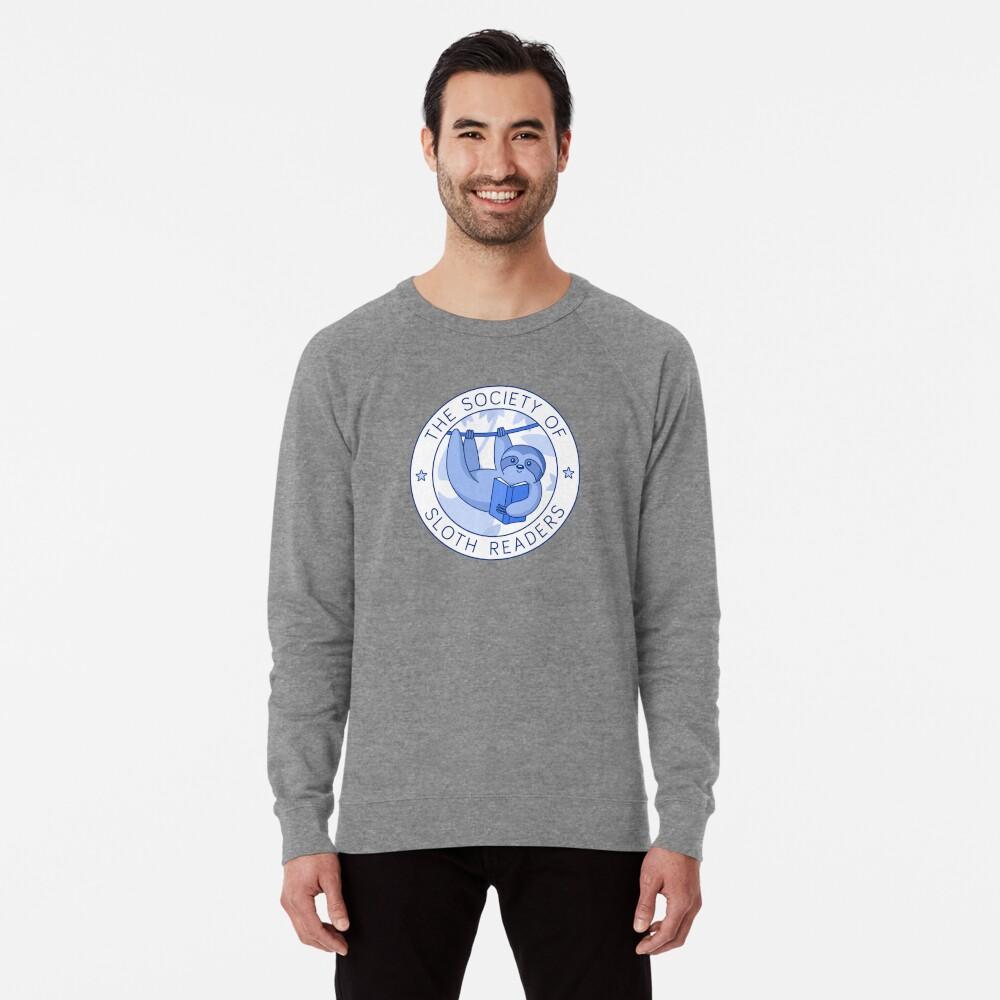 Society of Sloth Readers Lightweight Sweatshirt