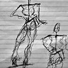Random Sketch 06...Drawing Day by C Rodriguez