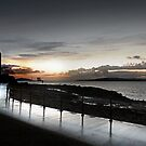 Largs Pencil Reflection by George Crawford