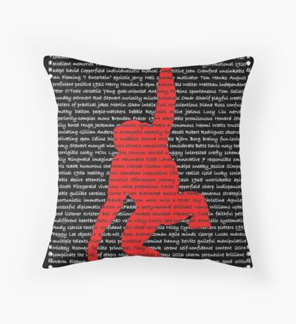 """""""The Year Of The Monkey"""" Throw Pillow"""