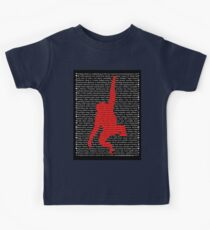"""""""The Year Of The Monkey"""" Clothing Kids Tee"""