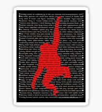 """""""The Year Of The Monkey"""" Clothing Sticker"""