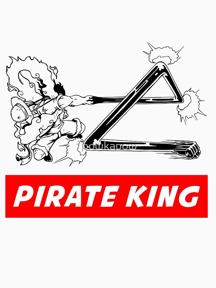 Monkey D. Luffy Gear Fourth - Pirate King by powkapow
