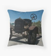 Rusting Away in Seligman Throw Pillow