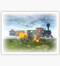 The Fantasyland Express tee Sticker