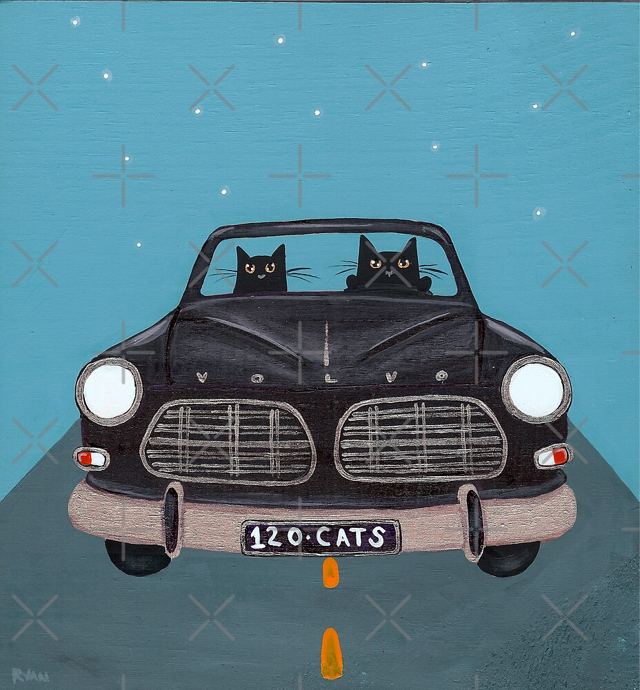 Black Volvo Amazon by Ryan Conners