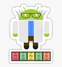Professor Droid Sticker